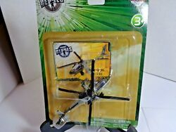 Toys R Us True Heroes Diecast Boeing AH 64 Apache Helicopter new in package $14.50