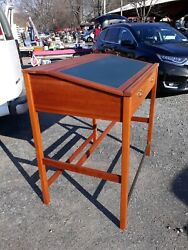 Fine Custom Drafting Table Antique Style  Architects Artists Desk Solid Cherry  $450.00