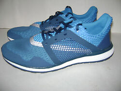 NIB adidas Energy Bounce 2 m Men#x27;s Running Sneakers Shoes Sz 11 Blue B49589 $69.99