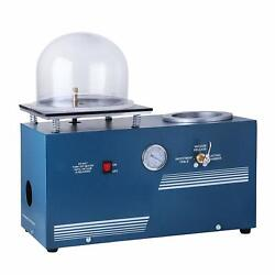 Jewelry Lost Wax Cast Combination Vacuum Investing Casting Investment Machine N