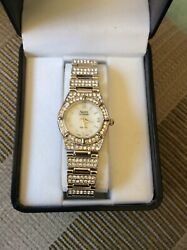 Womens Saint James Crystal Watch silver color $28.00