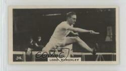 1926 Lambert & Butler Who's Who in Sport (1926) Tobacco #34 Lord Burghley Card