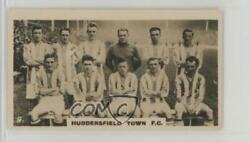 1926 Lambert & Butler Who's Who in Sport (1926) Tobacco #9 Huddersfield Town FC