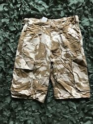 "british army desert dpm shorts 30"" waist grade a + marines sas hunting fishing"
