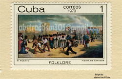11quot;x17quot; Photo of Cuba Postage Stamp new Foto de Sello Correos Cuba nueva. $39.95