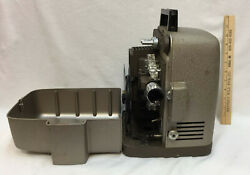 17 - 27 MM Film Projector Bell & Howell Autoload Metal Case Portable Vintage USA