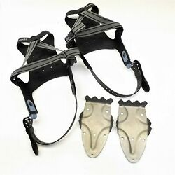 PAIR OF TUBBS X1621011010 XPLORE MENS SNOWSHOE BINDING RACE CRAMPON $99.95
