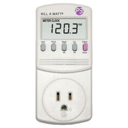 P3 International P4400 Kill A Watt Electric Usage Monitor $37.13