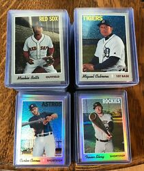 2019 TOPPS HERITAGE COMPLETE YOUR SET U PICK CHROME REFRACTOR 570 999