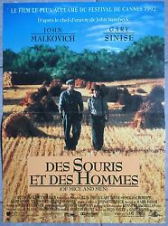 Poster Of Mouse And Of Mens Of Mice And Men Gary Sinise Farming 40x60 $12.44