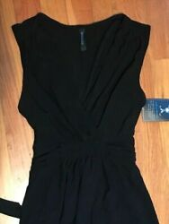 Black Maxi Boutique Collection Charlie's Project Dress S Ship FREE $16.80