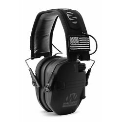 Walkers Razor Slim Shooting Ear Protection Muffs with NRR 23 dB Black Patriot $49.99