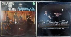 THE GEORGE SHEARING QUARTET lot of 2 X VINYL LP's: live on stage MONO