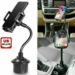 New Universal Car Mount Adjustable Gooseneck Cup Holder Cradle for Cell Phone US $8.66