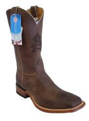Nocona Arizona State University MDASU12 Mens Brown Cowhide Branded College Boots $39.99