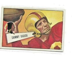 1952 Bowman Large #30 SAM BAUGH EX CENTERED Priced To Sell 65B $115.00