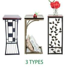 Modern Style Side Small Sofa End Table Narrow Snack Table Stand 4 Types New US $18.99