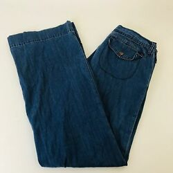 Genetic Denim Staraight Button and Zip with Pockets Womens Jeans Size 27