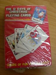 The 12 Days of Christmas Playing Cards $7.99