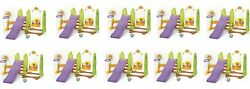 Wholesale lot of 10 Yaya Kids Child Toddler Premium Playground With SlideSoccer
