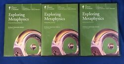 EXPLORING METAPHYSICS by THE GREAT COURSES CD's ~ 12 CD'S 24 Lectures Guidebook