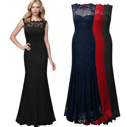 MIUSOL Women Long Lace Dress for Homecoming Prom Formal and Party $29.59