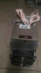 Antminer S9 13.5THs USED + PSU With Custom firmware (braainos)
