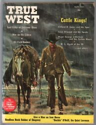 True West 4 1964 Western hanging art bank robbery Kit carson VG $52.00