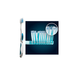 Sunstar Butler 505P GUM Adult Compact Summit Soft Manual Toothbrush 12Bx