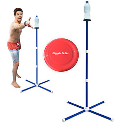 GIGGLE N GO Knock Off Toss Outdoor Games Yard Games for Kids and Family Disc $43.81