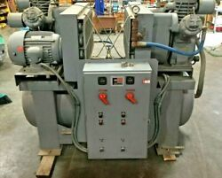Ingersoll Rand Type 30 Dual Air Compressor Model TPTA51  2 Stage  3 Cylinder