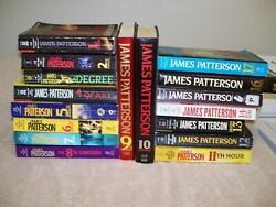 LOT OF 17 JAMES PATTERSON WOMENS MURDER CLUB SERIES BOOKS.1-17TH SUSPECT