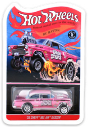 Hot Wheels 1955 Chevy Bel Air Gasser The Candy Striper Custom MAGNET for Fridge $4.99