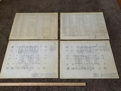 Collection of 30 Original World Trade Center Blueprints (Twin Towers 911)