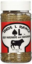 Spade L Ranch Beef Marinade and Seasoning 6 oz