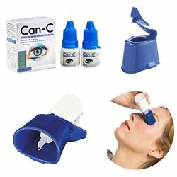 Can-C Eye-Drops Fight Cataracts(2 X 5 ml Vials)  IVP Approved! FREE Auto Drop!