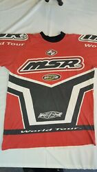 Vintage MSR Long Sleeve Riding Shirt Size XL Motocross Motorcycle Fox Racing $39.99