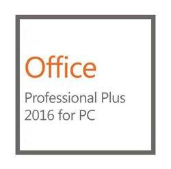 MS Office  2016 Pro Plus - New Genuine License w Disk  - 1PC Install