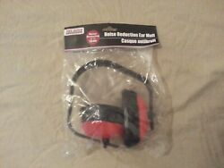Tool Bench Noise Canceling Ear Muffs Reduction Gun Range Protection