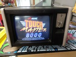 MIDWAY TOUCHMASTER 8000 COMMERCIAL VIDEO ARCADE GAME MEGATOUCH