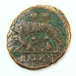 Ancient Roman Coin - Wolf Design wRomulus and Remus c. 100 - 375 A.D.