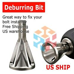 Deburring External Chamfer Tool Stainless Steel Remove Burr Tools Drill Bit Tool $4.25
