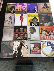LOT OF (16) GREAT SOUL ARTSIST LP VINYL RECORDS GREAT COLLECTION! ALBUMS