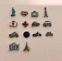 Authentic Origami Owl Travel Charms - NEW & Retired - FREE Shipping