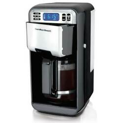 Hamilton Beach 12 Cup Digital Automatic LCD Programmable Coffee Maker Brewer $45.26
