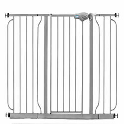 Regalo 51 Inch Easy Step Extra Wide Walk Thru Baby and Pet Safety Gate Platinum $42.26