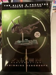 Eaglemoss Alien And Predator Figurine Collection- Swimming Xenomorph