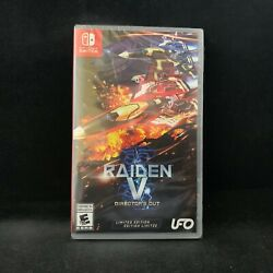 Raiden V Director's Cut (Limited Edition) (Nintendo Switch) BRAND NEW