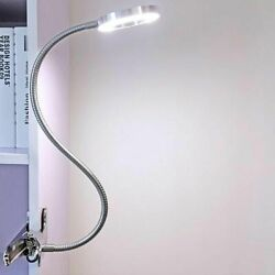 Portable Rechargeable Dimming Table Lamps Push Buttons Switch Clip LED Desk Lamp $22.99
