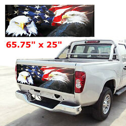 American Flag Truck Car Tailgate Wrap Vinyl Graphic Decal Sticker 167CM X 64CM